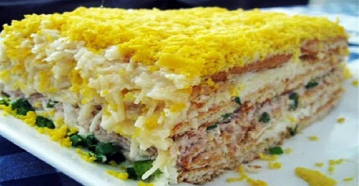 """Salata cu pește de Revelion va atrage cu siguranță atenția """"gustativă"""" a invitaților le masa de Revelion și va da o notă aparte antreurilor"""