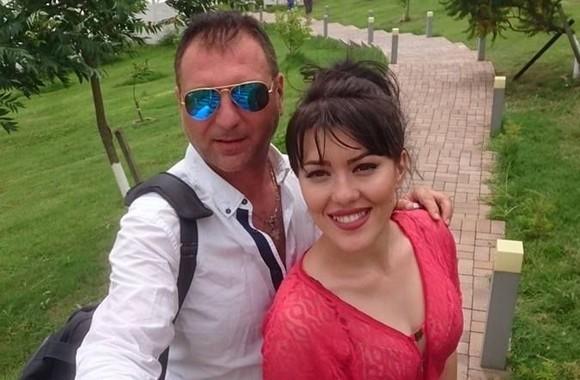 Christian Sabbagh și soția sa, Iulia