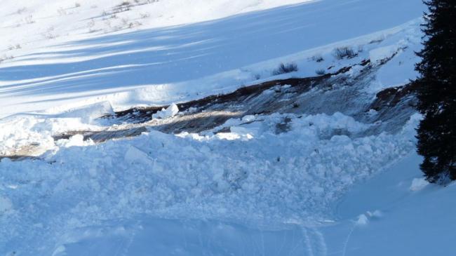 Avalanşă în munţii din România