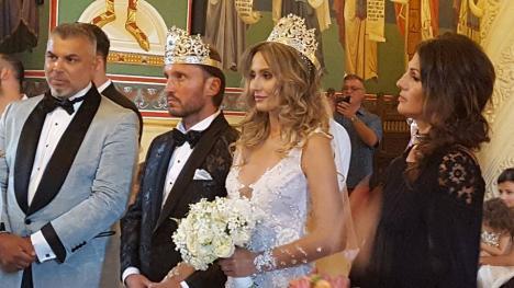 Crina Abrudan și Gabi Popescu la cununia religioasă