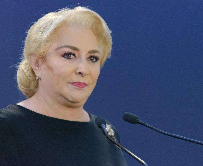 Viorica Dăncilă, premierul României