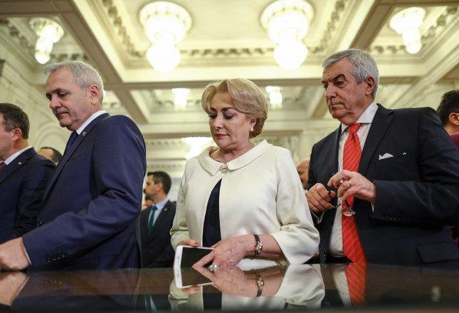 Viorica Dăncilă, Liviu Dragne ași Călin Popescu-Tăriceanu