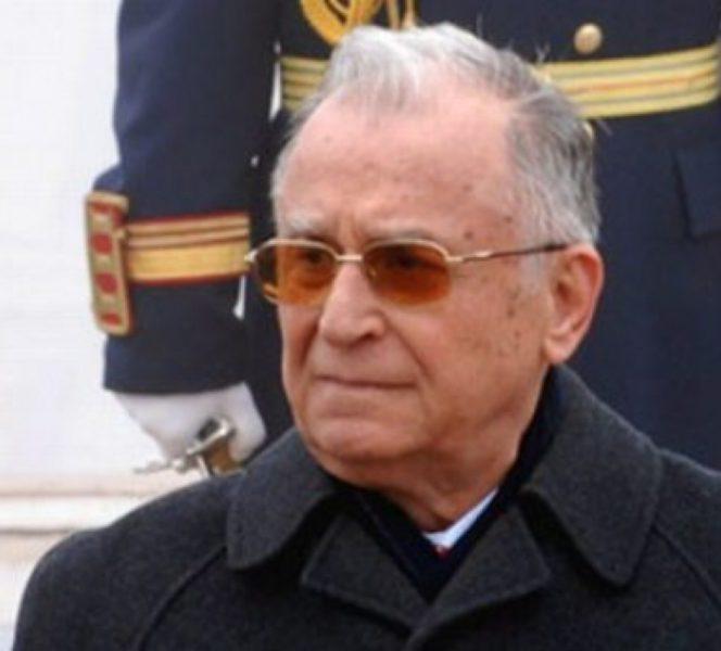 Ion Iliescu, la parada din 2017, organizată de Ziua Naţională a României