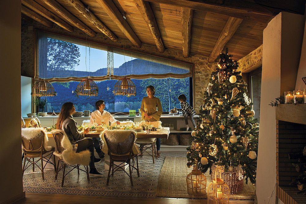 Decorul de Crăciun recomandat de Adela Pârvu, de la Visuri la cheie, pe blogul său