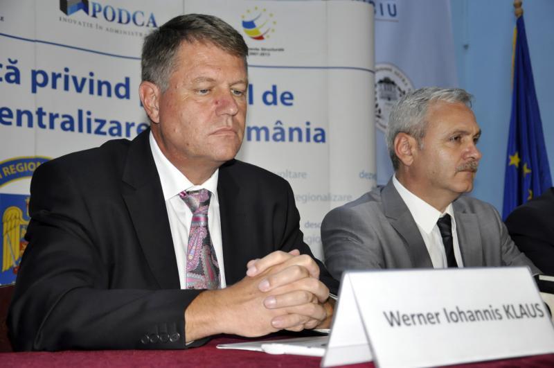 Klaus Iohannis, încă un atac la adresa lui Liviu Dragnea: