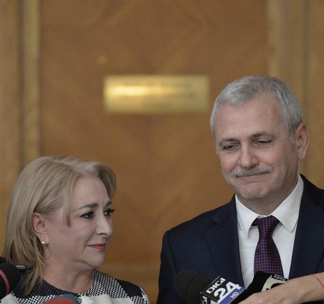 Viorica Dăncilă și Liviu Dagnea