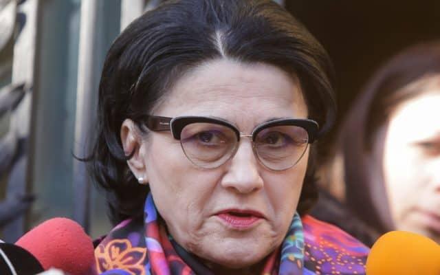 Ecaterina Andronescu, ministrul Educaţiei