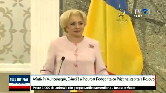 Altă gafă a premierului României
