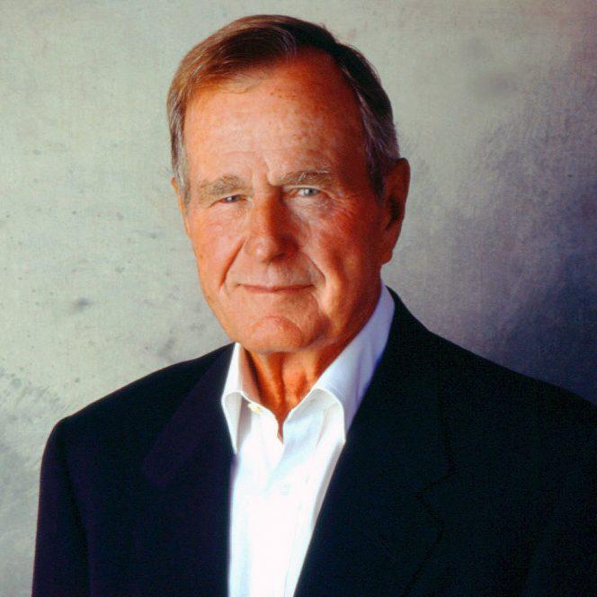 George W Bush, preşedintele cu numărul 41 al SUA