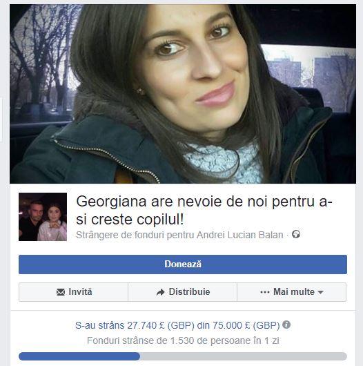 Marian Godină lansează un apel umanitar pentru o polițistă însărcinată în 8 luni, care a fost diagnosticată cu cancer