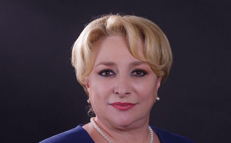 Viorca Dăncilă, premierul României