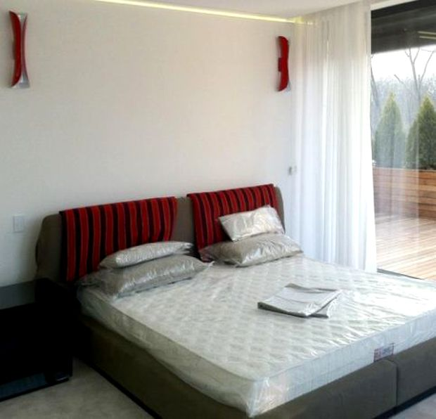 Dormitorul lui Ion Țiriac