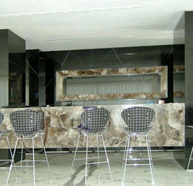 Imagini din locuința lui Ion Țiriac