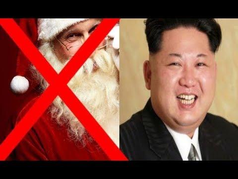 Crăciunul este strict interzis de dictatorul care conduce Coreea de Nord, Kim Jong-Un, care a transformat noaptea de Ajun în comemorarea bunicii sale!