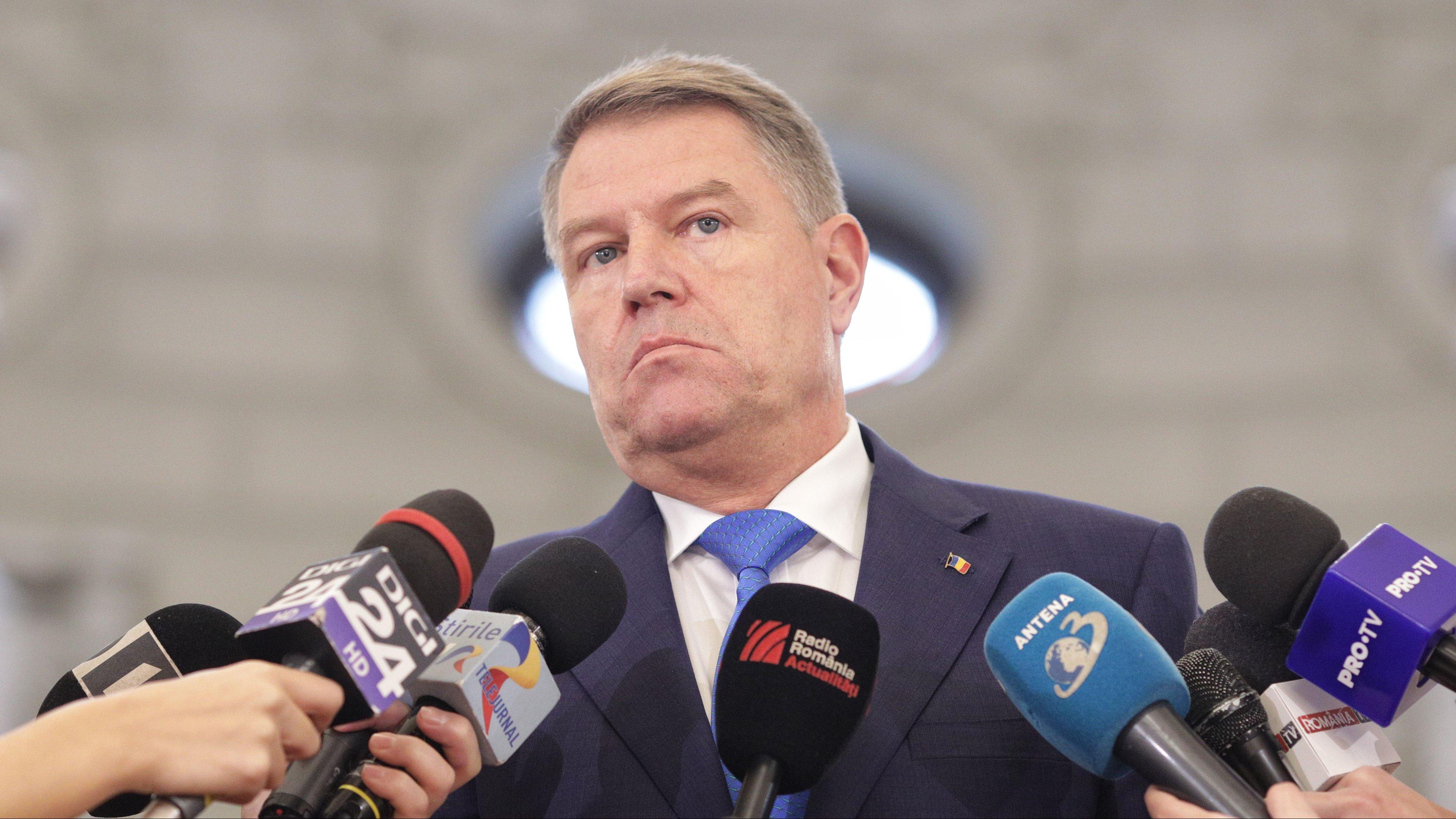 Klaus Iohannis a suspendat, marți, 11 decembrie, ședința Consiliului Suprem de Apărare a Țării(CSAT)