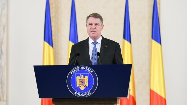Klaus Iohannis, șeful statului