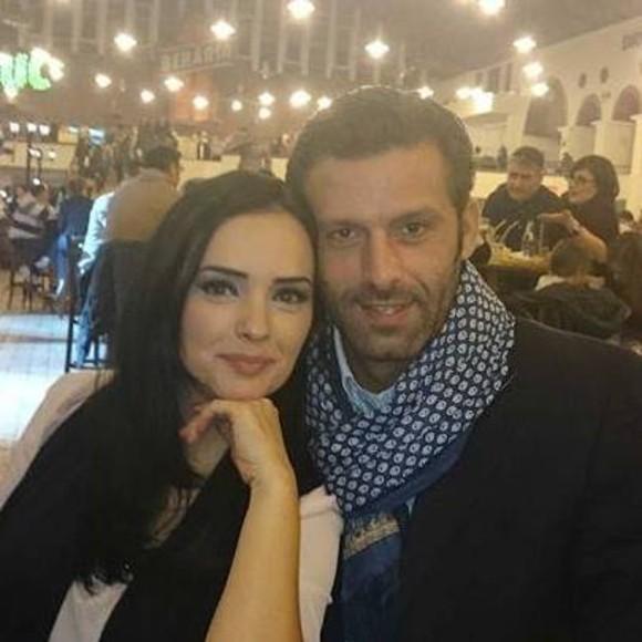 Magda Vasiliu, alături de soţul său, înainte de a se muta din România