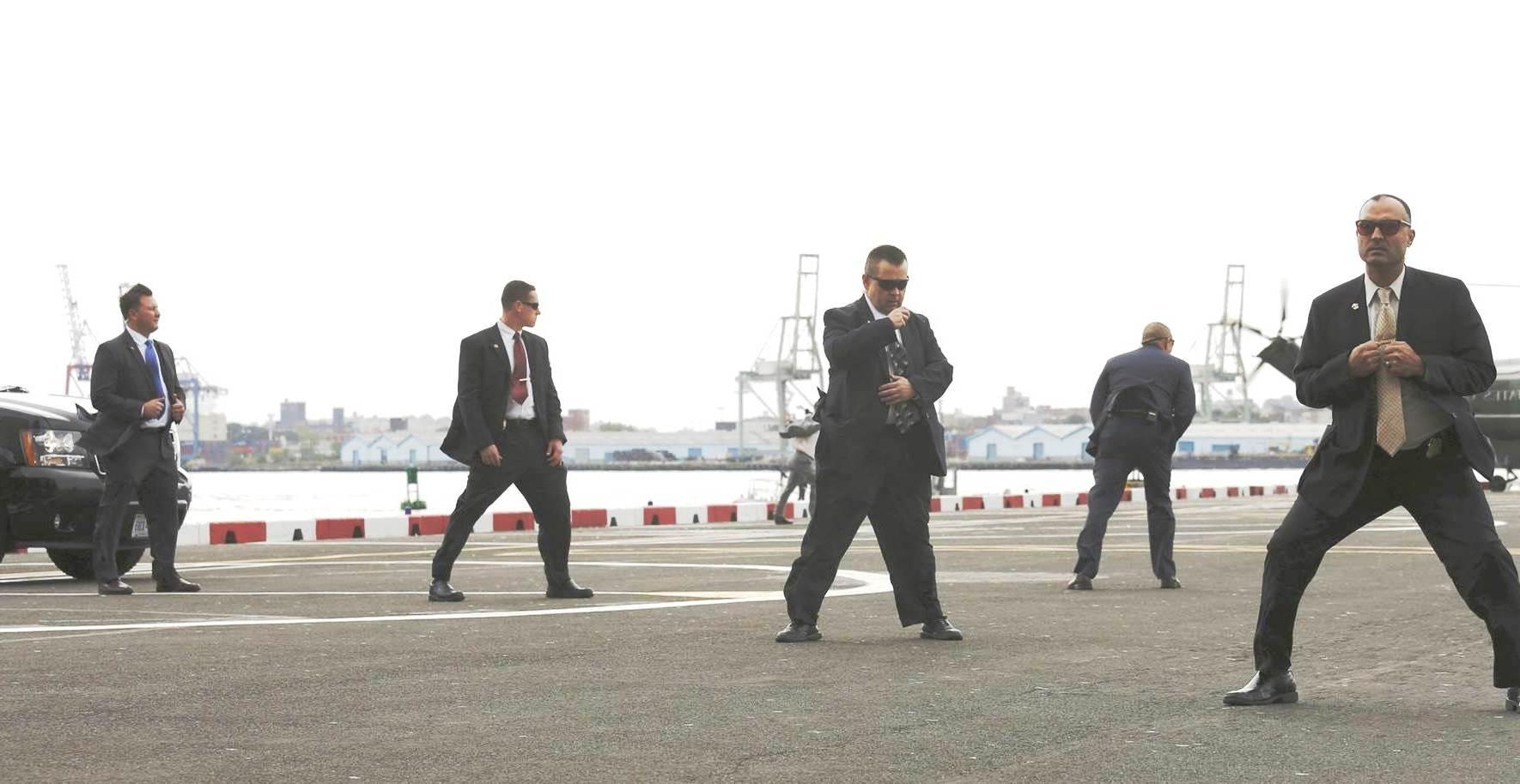Ofiţeri SPP, în misiune