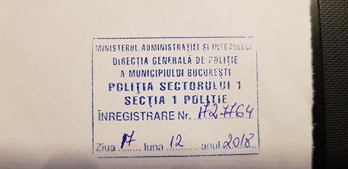 """""""Jandarmul turmentat"""" din Piata Victoriei care l-a legitimat pe Tudor Chirilă are probleme mari! Plângere penală împotriva lui"""