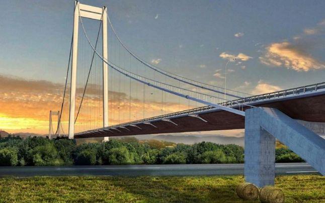 Proiectul podului peste Dunăre