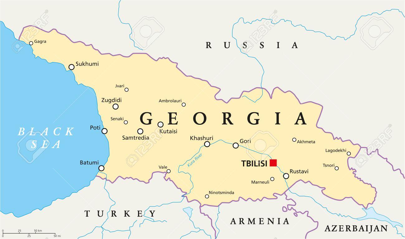 Georgia a devenit independentă pe 26 mai 1918, Ziua Națională