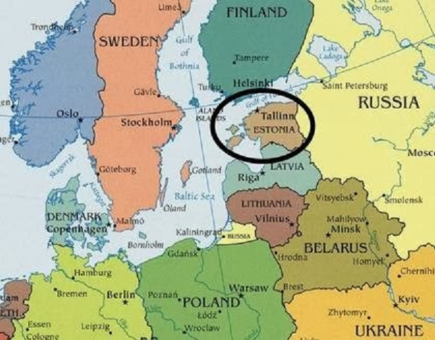 Estonia și-a declarat independența pe 24 februarie 1918, Ziua Națională