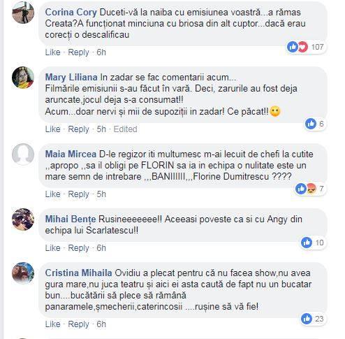 Acestea sunt doar câteva dintre mesajele care au apărut pe Facebook