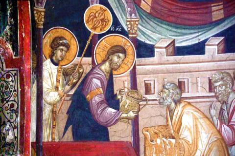 Sfinții Mucenici Mina, Ev