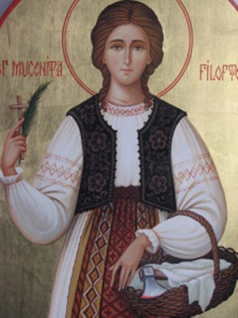 Sfânta Muceniţă Filofteia