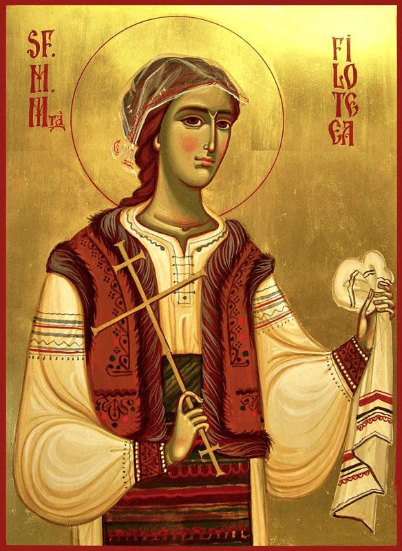 calendarul ortodox din data de 7 decembrie sfanta mucenita filofteia