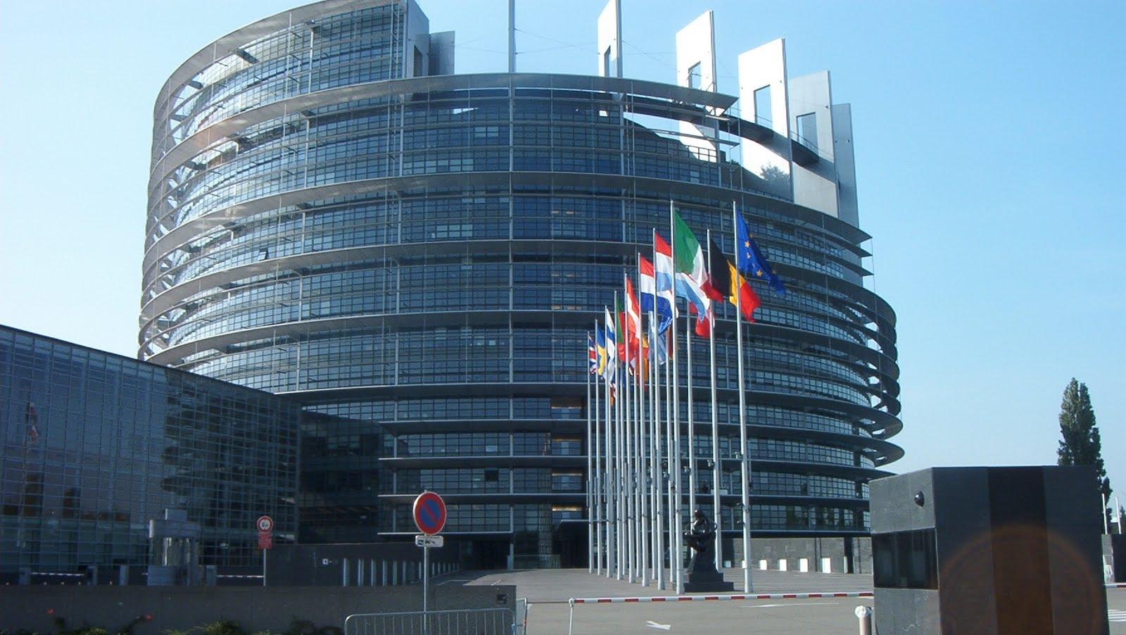 Sediul Parlamentului European din Strasbourg