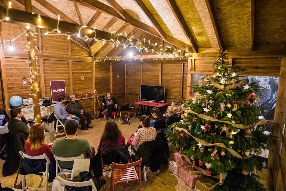 Imagine de la Casa lui Moş Crăciun