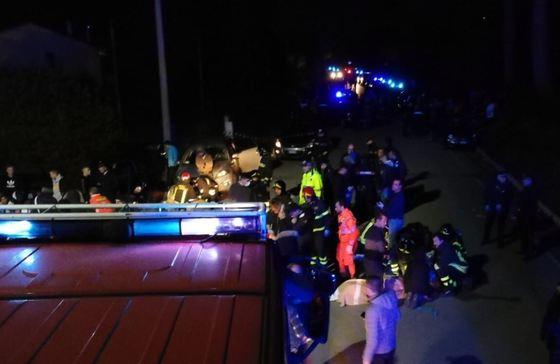 Autorităţile italiene au scos răniţii din club şi aceştia primesc îngrijiri medicale