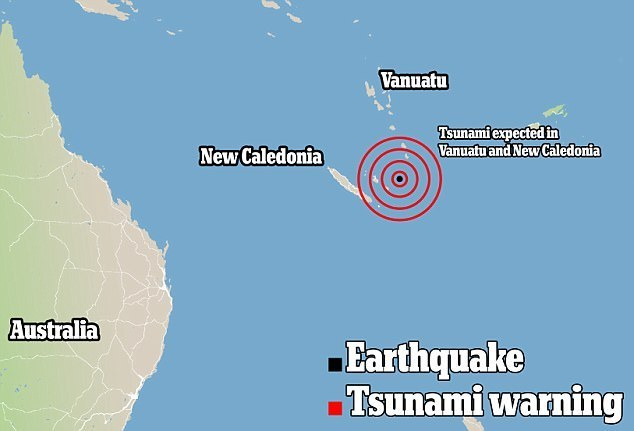 avertisment tsunami vanuatu si nua caledonie dupa un cutremur de 7,6 magnitudine