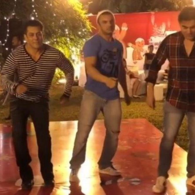 Salman Khan on Christmas party dances