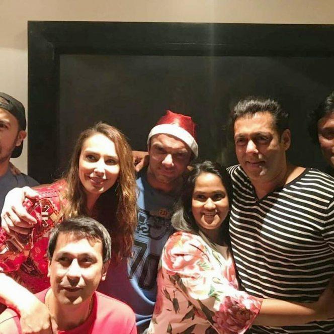 Iulia Vânturi, Salman Khan și unii din invitați
