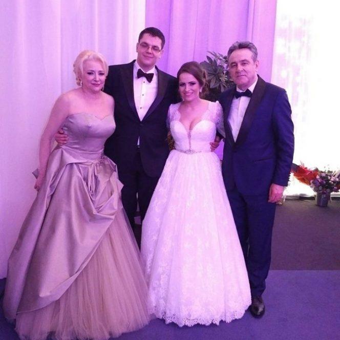 Viorica Dăncilă, apariție uimitor de provocatoare la nunta fiului