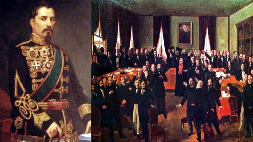Mica Unire s-a săvârșit în ianuarie 1859 prin alegerea aceluiași domnitor, Alexandru Ioan Cuza, atât în Moldova, cât și în țara Românească, la distanță de 19 zile: 5, respectiv 24 ianuarie