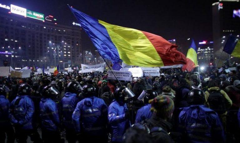 PROTESTE de amploare, in Bucuresti, dupa anuntul lui Toader! Ce se intampla ACUM, in Piata Victoriei