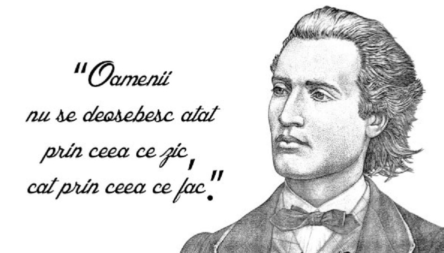 """Mihai Eminescu, """"valabil"""" și la 169 de ani de la nașterea sa... Gândurile sale sunt geniale"""