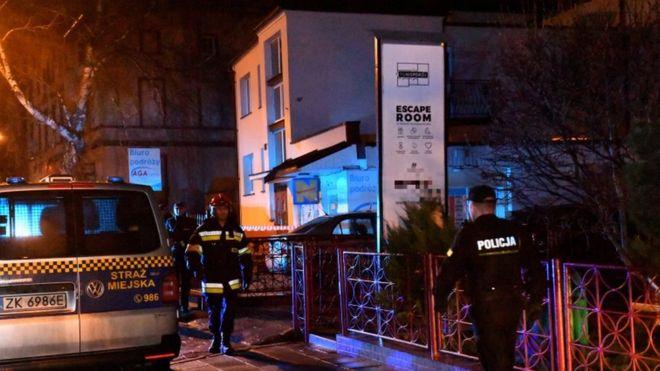 Polițiștii veniți la fața locului