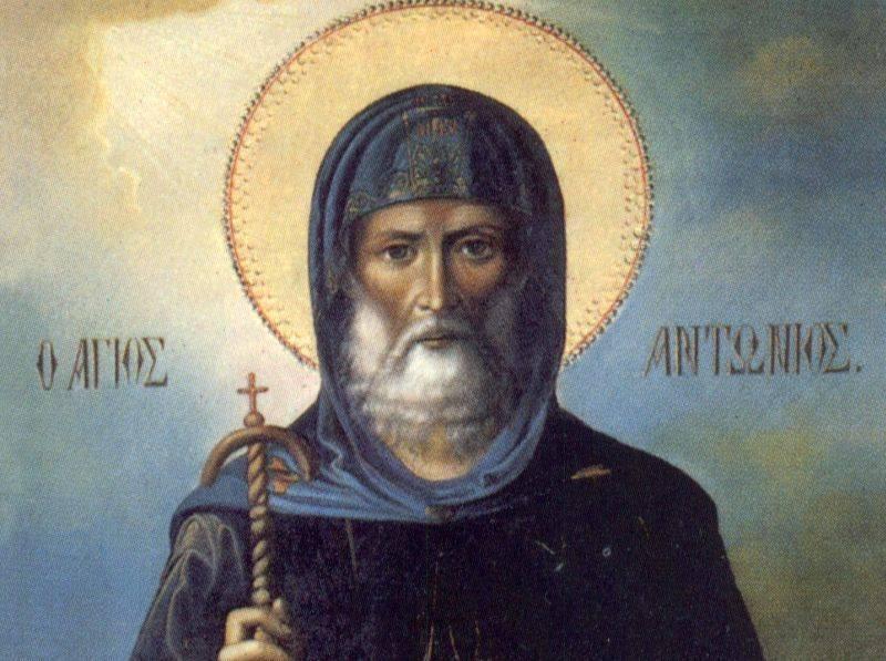 Sfântul Antonie cel Mare a luptat toată viața împotriva lucrării Diavolului pe Pământ și a pus bazele vieții monahale
