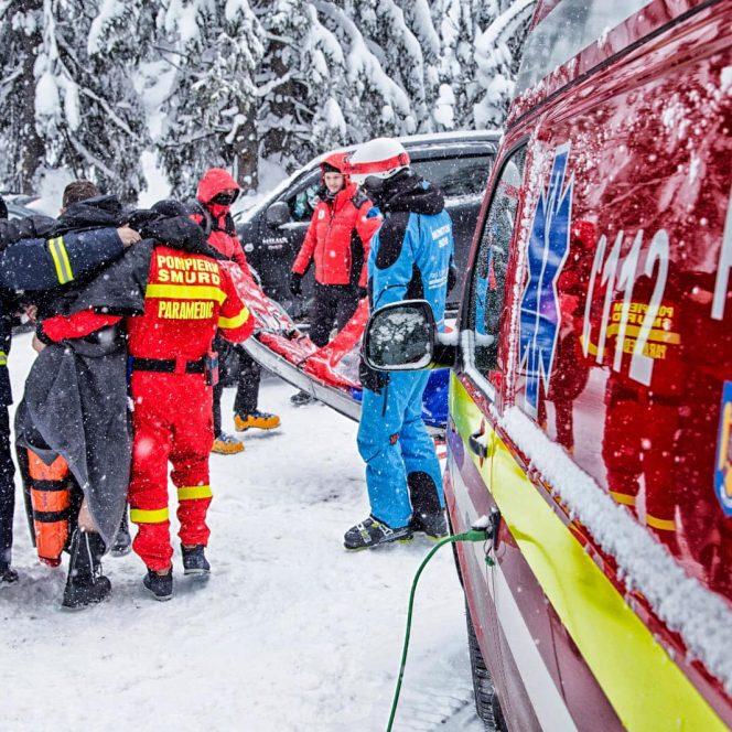 Accidentul a avut loc pe Domeniul Schiabil Șureanu din județul Alba