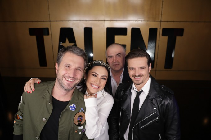 Andi Moisescu, Andra, Mihai Petre și Florin Călinescu sunt jurații de la Românii au Talent