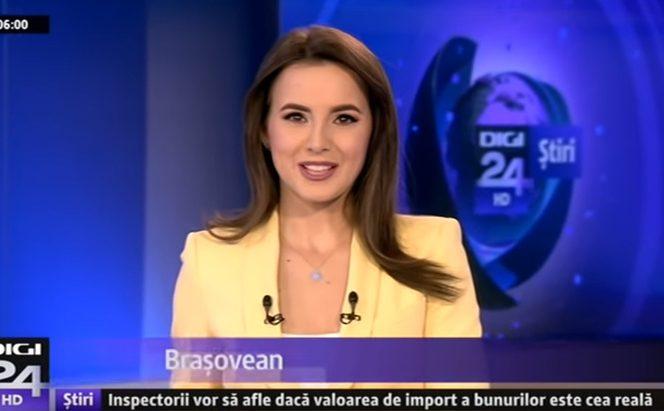 Andreea Brașoveanu, nou prezentator la Digi 24
