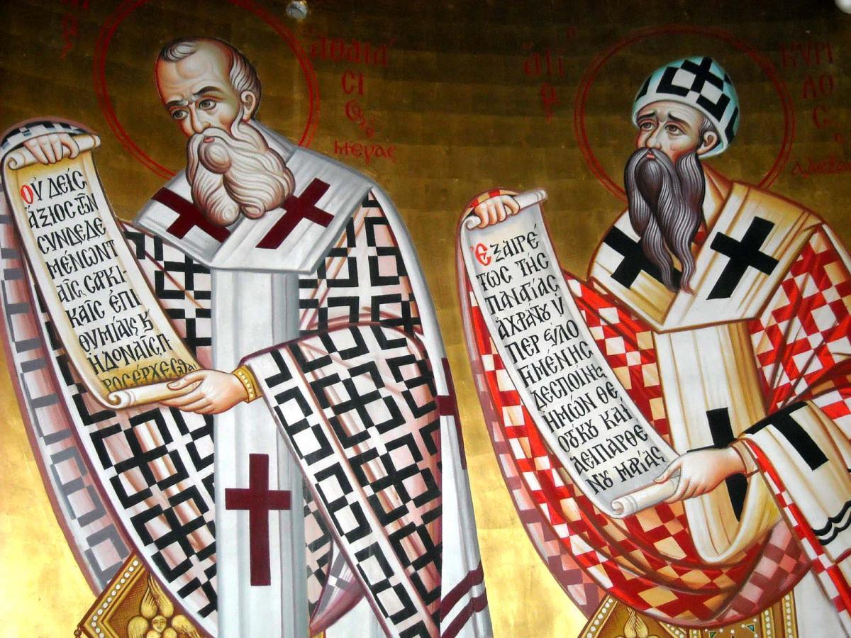 Calendar ortodox 18 ianuarie: Sfinții Atanasie și Chiril