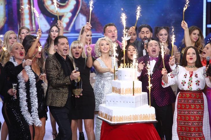 Aşa s-a petrecut de Revelion, la Antena 1, acolo unde Dan Negru a fost gazda emisiunii