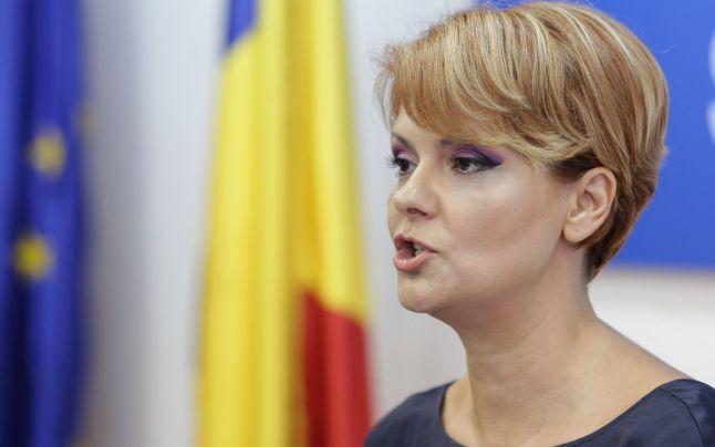 Lia Olguţa Vasilescu vorbeşte despre reducerile de personal din rândul bugetarilor, în 2019