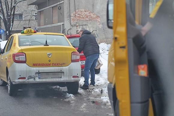 Busu a fost ajutat de un taximetrist