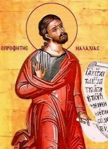 Sfântul prooroc Maleahi